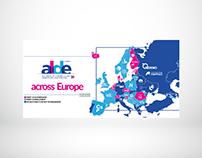 Map of European Parties in ALDE.