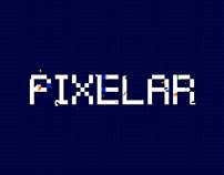 Pixelar - Animated Typeface