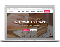 Enake Onepage Design