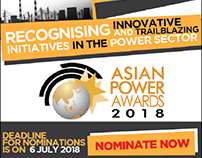 AsiaPower Awards 2018 Online Banners