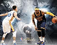 2015 NBA Finals Artwork