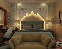 Master Bedroom Moroccan arabian style