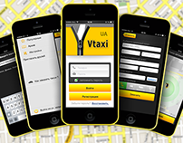 Vtaxi iOS&Android App