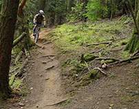 Biking the Seven Summits Trail in BC