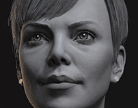 Charlize Theron: Female Likeness Practice