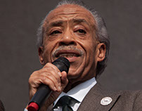 Oscars So White Protest with Al Sharpton
