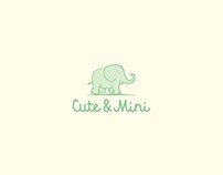 Cute & Mini Logo design
