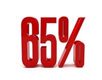 Red Discount 65 Percent