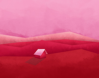 SIMPLE HOUSING | COLOR SCALE PINK RED & VIOLET