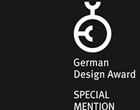 German Design Award 2015 - Special Mention