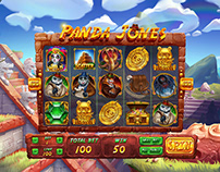 "Online slot machine for SALE - ""Panda Jones"""