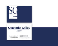 samantha gallay / branding