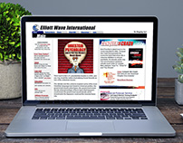 Elliott Wave International web design