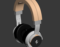 Ferrari Headphones - Modelado 3D