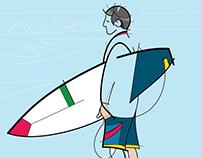 Incomplete Surf Art
