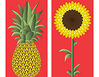 Pineapple & Sunflower