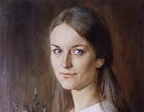 Портрет маслом с натуры
