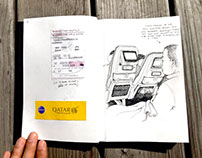 Travel sketchbook (Hong Kong/Manila)