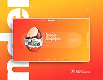 Kinder   Online store