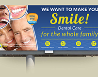 Dental Clinic Billboard Template Vol.2