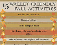 Infographic - Fall Activities