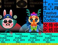 十二生肖/Chinese Zodiac