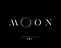 MOON CALENDAR 2018 POSTERS