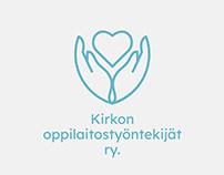 Logo for Kirkon oppilaitostyöntekijät ry.