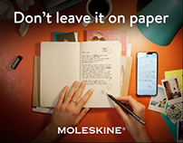 Moleskine | International Digital Campaign