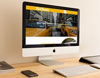 Website UI Design For Faz Taxi Company