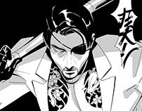 Yakuza 6 Art Show