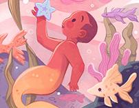 I have found something... | Children book illustration