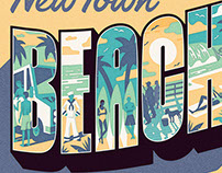 Beachtown Key Art