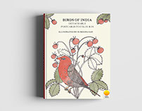 Birds of India Adult colouring book