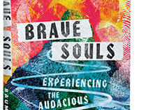 Brave Souls Book Cover Design