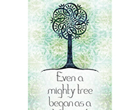 Even a mighty tree...