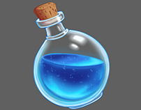 Magic Bottle - Concept art