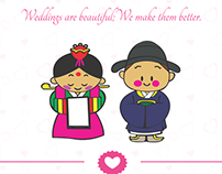 Creative Wedding Web Design Service