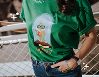 Introver Bookworm Cactus t-shirt design