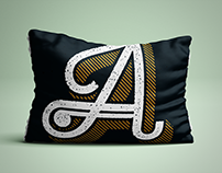 Typography Pillows