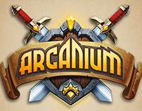 Arcanium Logo Study
