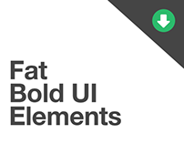 Fat Bold UI Elements - ** DEPRECATED **