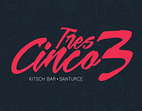 Tres Cinco 3 - Logo