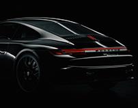 Porshe 911 Carrera CGI