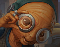 Maz Kanata - The Force Awakens