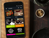 Mobile Application (material design)-KuchniaLidla.pl