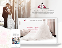 "Web site wedding design studio ""Dinabursky"""