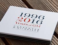 Carpenter & MacNeille 20th Anniversary Logo