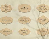 Vintage Label Free Mockups