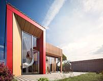 Visuels 3D pour Agence Architecture Stephane Deville